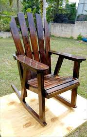 Outdoor Wood Rocking Chair Pallet Rocking Chair 99 Pallets