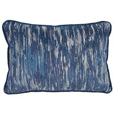 Animal Print Furniture by Lacefield Designs Kenya Indigo Animal Print Pillow U0026 La Costa Blue