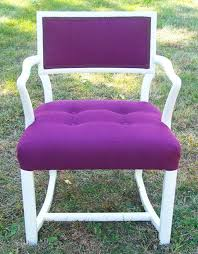 How To Reupholster A Side Chair How To Upholster An Open Arm Side Chair Apartment Therapy