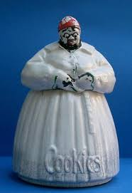 authentic original mammy mccoy pottery cookie jar for sale