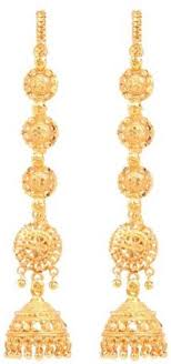 latkan earrings flipkart buy goldnera earchain latkan design alloy jhumki