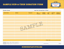 donation form template status report template