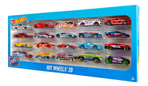 amazon com wheels 20 car gift pack styles may vary toys