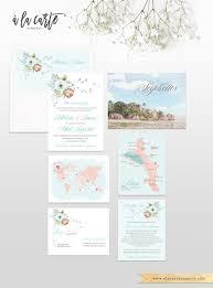 destination wedding invitation seychelles island indian ocean