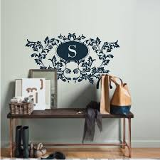 vintage leaf design decals stickers high style wall decals wall