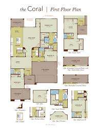 Patio Floor Plans Coral Home Plan By Gehan Homes In Hacienda At Windrose