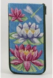 peterson eyeglass phone booth needlepoint