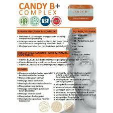 suplemen herbal pria candy b vitamin pria perkasa isi 4