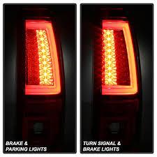 chevy silverado led tail lights spyder 5081926 chevy silverado 1500 2500 version 2 led tail lights