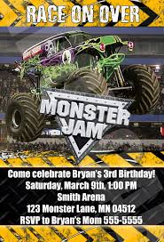monster truck jam party supplies 91 best brooks 6th bday ideas images on pinterest monster trucks