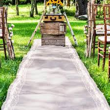 Aisle Runners For Weddings Wedding Aisle Runner With Lace For Your Special Day 2184214