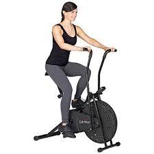 lifemax dual action fan bike fingerhut lifemax fan bike