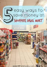 Shoppers Rug Mart 5 Easy Ways To Save Money At Shoppers Drug Mart