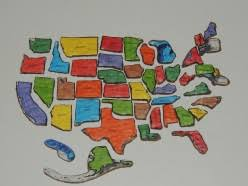 us map puzzle united states map puzzle
