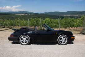 1990 porsche 911 convertible porsche 911 carrera hire chianti classic car tuscany italy