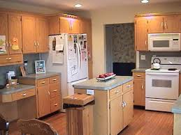 paint colors for small kitchen with oak cabinets ideas best