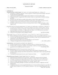 Sample Resume Objectives Human Resources by 100 Resume Format For Experienced Hr Professionals Flight