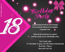 18th birthday invitations badbrya com
