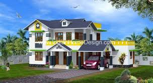 kerala style home elevation idea for a 3 bedroom 1980 sq ft