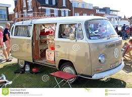 Ideal Classic Cars - vintage classic vw camper van editorial stock image image 57546144