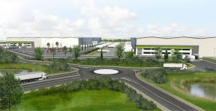 150 M To Ft by 150m Warehouse Development Plans For St Helens D U0026d Coatings