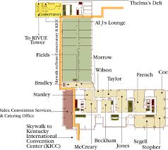 kentucky house map meeting space map galt house hotel