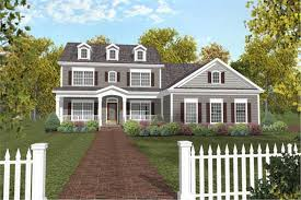 front porches on colonial homes colonial house plans with porches luxamcc org
