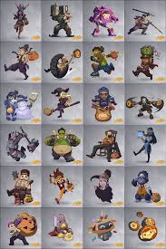 overwatch on halloween video games pinterest gaming
