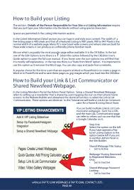 link and list communicator