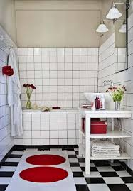 black and white and red bathroom ideas thesouvlakihouse com