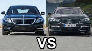 2016 mercedes s class vs 2017 bmw 7 series youtube