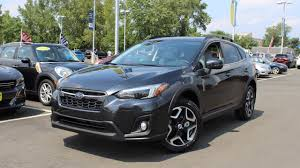 grey subaru crosstrek 2018 subaru crosstrek 2 0i limited in depth first person look