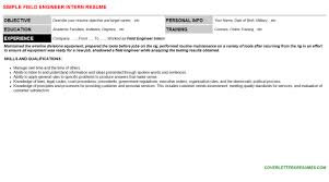 Engineering Internship Resume Template Devops Engineer Intern Resumes U0026 Cover Letters