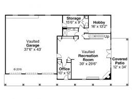 garage plans with flex space garage plan with rec room and 3