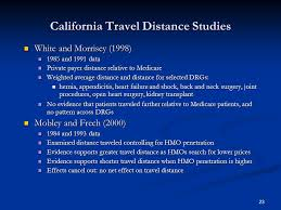California travel distance images Selective contracting managed care and hospitals ppt download jpg