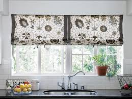 ideas for kitchen windows 10 stylish kitchen window treatment ideas hgtv
