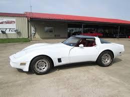 1981 white corvette 1981 white corvette original condition driver quality for sale