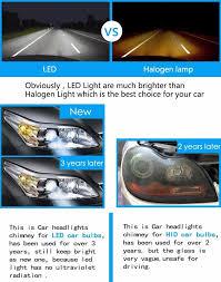 Led Light Bulbs For Headlights by Led H4 Car Headlights 60w 6000lm Car Led Light Bulbs H4 Hb2 9004