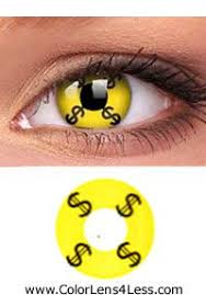 money crazy contact lens pair hc25 9 99 colored contacts