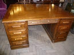 antique oak partners desk antique furniture