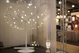 new york based blackbody showed a white tree shaped scupture with