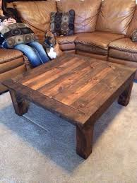 Building A Wooden Desk by Best 25 Homemade Coffee Tables Ideas On Pinterest Diy Table