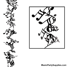 Music Note Decor Music Gifts Notes Music Notes Wire Garland Music Notes