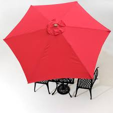 Sun Garden Easy Sun Parasol Replacement Canopy by 9ft Patio Umbrella Replacement Canopy 6 Rib Outdoor Market Garden