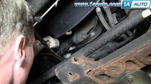 how to install replace ac compressor belt chevy silverado gmc