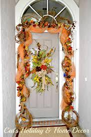 Decorative Garlands Home Door Garland Designs U0026 Garland Over Extra Wide Doorway