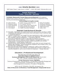 resume tips for professionals human resources resume examples human