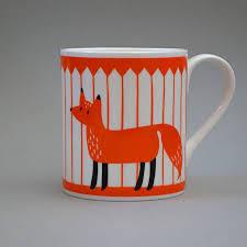 fox mug by lisa jones studio notonthehighstreet com