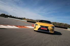 lexus lc in blue first drive 2018 lexus lc 500 and 500h automobile magazine