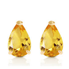 seconds earrings 3 15 ctw 14k solid gold cherished seconds citrine earrings ebay